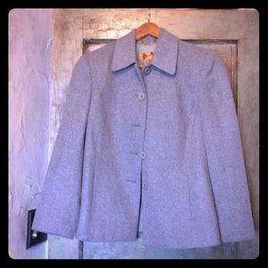 Lambs wool and Cashmere blend coat